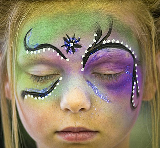 Face Painting - The Mane Attraction Hair Studio