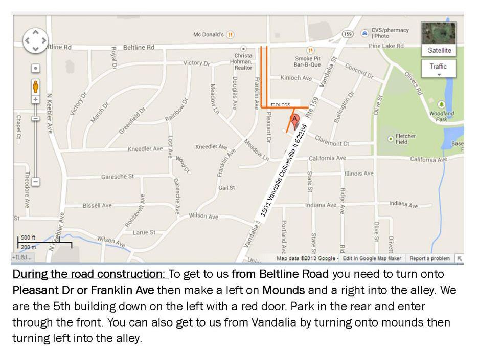 Collinsville, Edwardsville, Troy Hair Salon | Salon Map